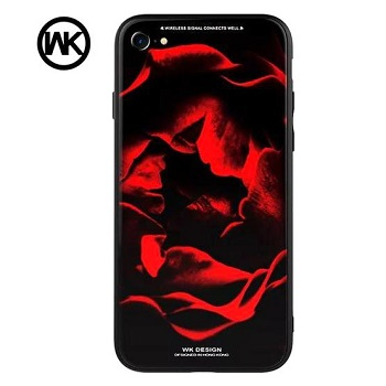 WK Tempered Glass Rose Case (iPhone 7)
