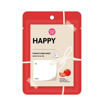 Cathy Doll Happy Mask Sheet Tomato Extract