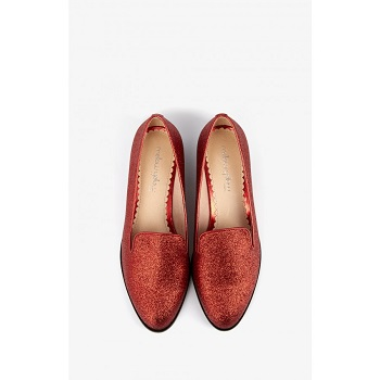 Mellow Yellow Loafer Cagliterry Red
