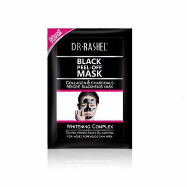 Dr. Rashel Black Peel Off Charcoal Mask 8g