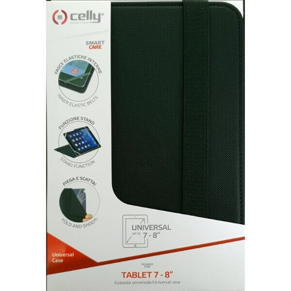 Celly Universal Case Tablet 7-8 Black