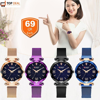Magnetic Women's Watches, Asstd
