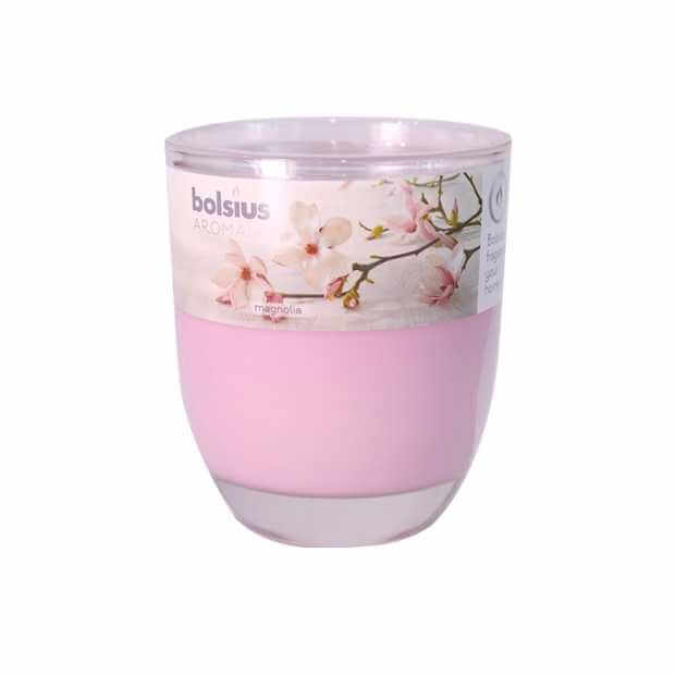 Bolsius Glass With Scented Candle