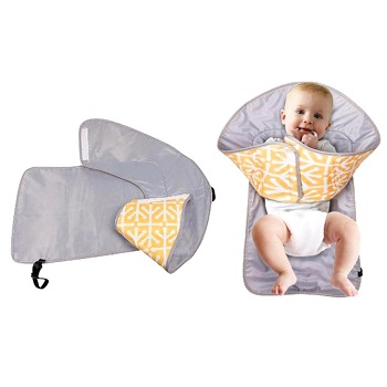 Portable Diaper Changing Pad, Style D