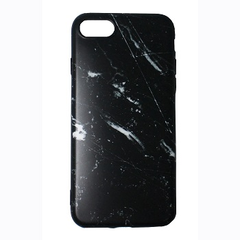 Black Marble Case (iPhone 8)