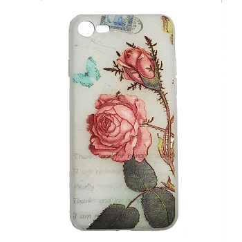 Red Rose Flower Case (iPhone 8)