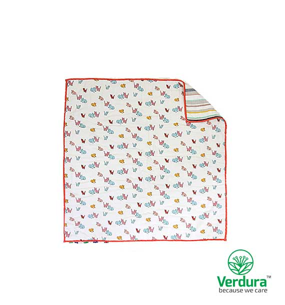 Myverduracare Lovely Pets Quilt