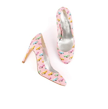 Mellow Yellow Pump Beyou Light Pink