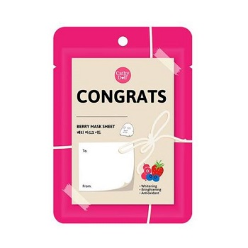 Cathy Doll Congrats Mask Sheet Berries Extract