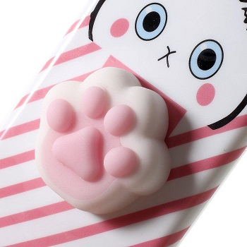 Squishy Pink Paw Cases (iPhone 8 Plus)