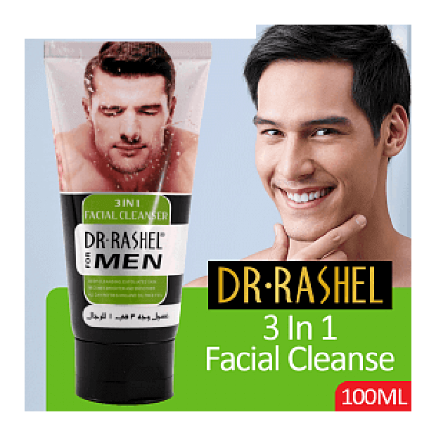 Facial Cleanser for Men 3 in 1