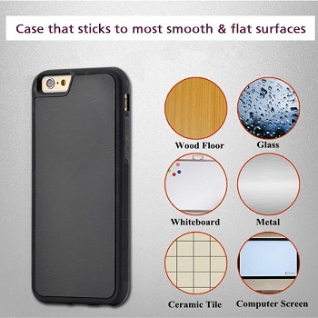 Black Anti-Gravity Case (iPhone 6 Plus)