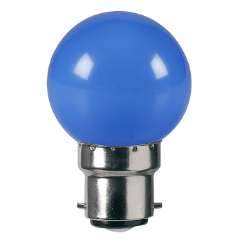 Havells Lumeno LED Bulb 0.5W E27, Blue
