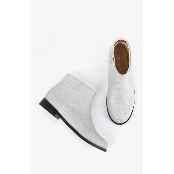 Mellow Yellow Kids Boots Mncaglitter Silver
