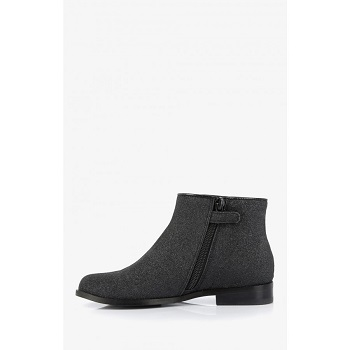 Mellow Yellow Kids Boots Mncaglitter Black