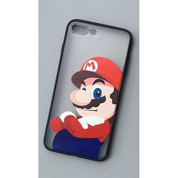 Super Mario Clear Case (iPhone 8 Plus)