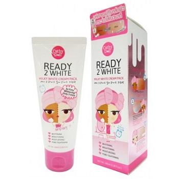 Cathy Doll Lightening Milky Mask Sheet 3.5ml+25g Ready 2 White