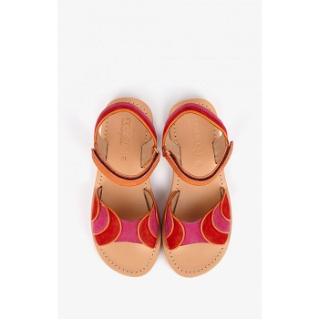 Mellow Yellow Kids Sandals Mndadyl Red