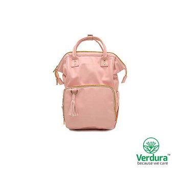 Myverduracare Blossom Pink Vegan Leather Day Tripper Bag