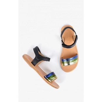 Mellow Yellow Kids Sandals Mndany Blue