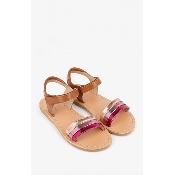 Mellow Yellow Kids Sandals Mndany Camel