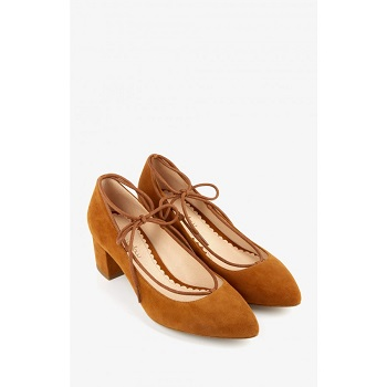 Mellow Yellow Pumps Castylista Camel