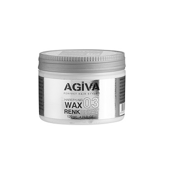 Agiva Color Wax White A-W-0