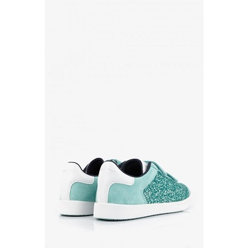 Mellow Yellow Kids Sneakers Mndaclo Turquoise