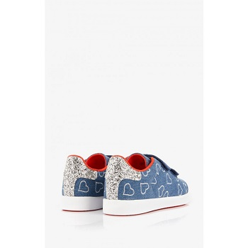 Mellow Yellow Kids Sneakers Mndaclo Blue