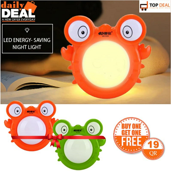 LED Energy Saving Night Light (Buy 1 Get 1 Free)