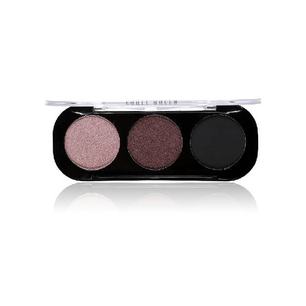 Party Queen Artist Trio Eyeshadow Palette 8 Styles Shimmer Matte Bronze Eyeshadow Makeup Natural Naked Smokey Glamour Eye Shadow 02
