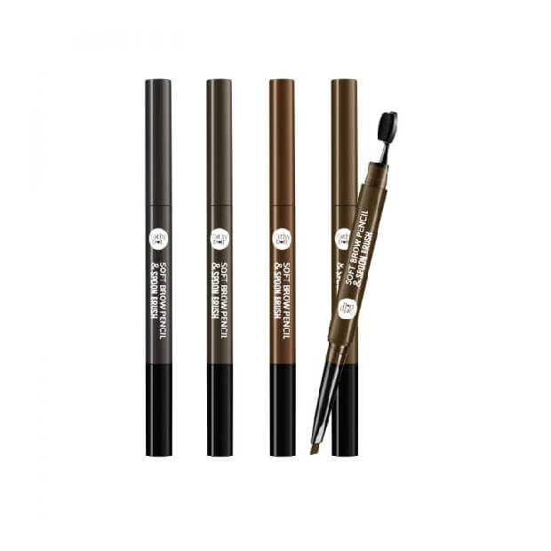 Cathy Doll Soft Brow Pencil & Spoon Brush 120g