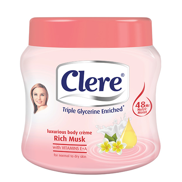 Clere Body Cream - Musk 300 ML