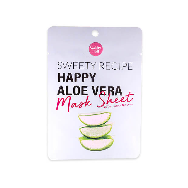 Cathy Doll Sweety Recipe Happy Aloe Vera Mask Sheet