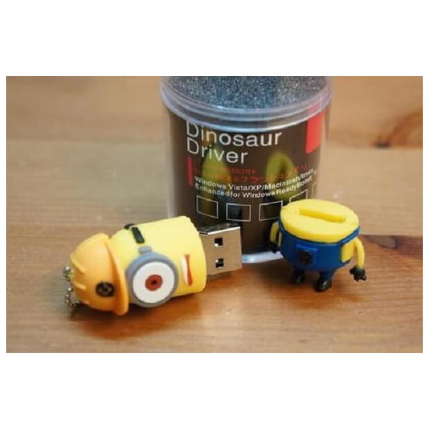 Chikili Minion Construction Worker Stuart USB (8 GB)