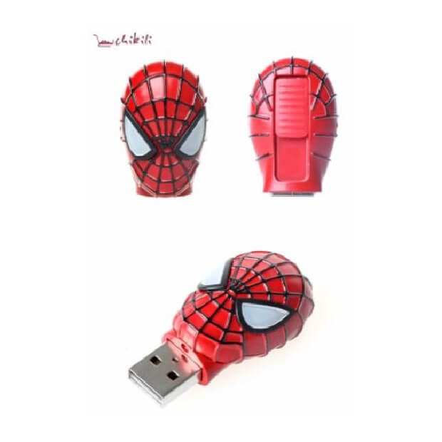 Chikili Spiderman Mask USB