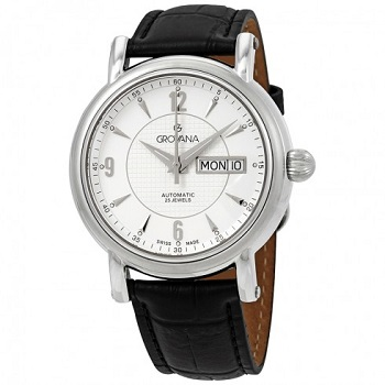 Grovana Automatic White Dial Men's Watch 1160.2532