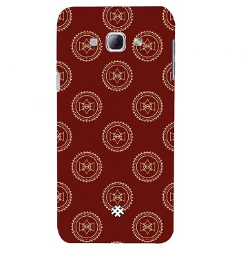 Samsung A8 (2015) Illustration Brown Bow Premium Phone Case