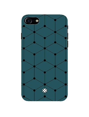 Apple iPhone 7 Plus Abstract Sea Brush Premium Phone Case