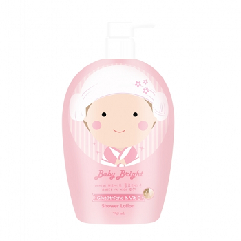 Baby Bright Glutathione & Vitamin C Shower Lotion 750ml