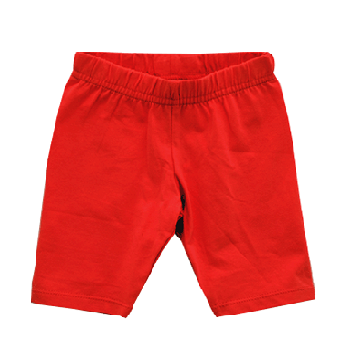 Cotton Shorts for Girl, Red