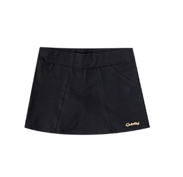 Kids Toddler Shorts For Girl, Black