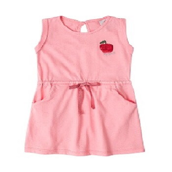 Dress For Girl Baby Clothes Fashion, Pink