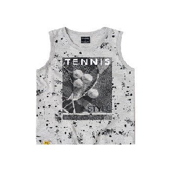 Kids Tank Top Summer Clothes, Gray
