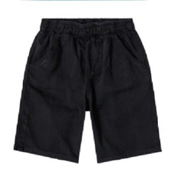 Outdoor Shorts For Boy, Black