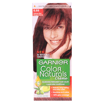 Garnier Natural Hair Color 6.66 Intense Red
