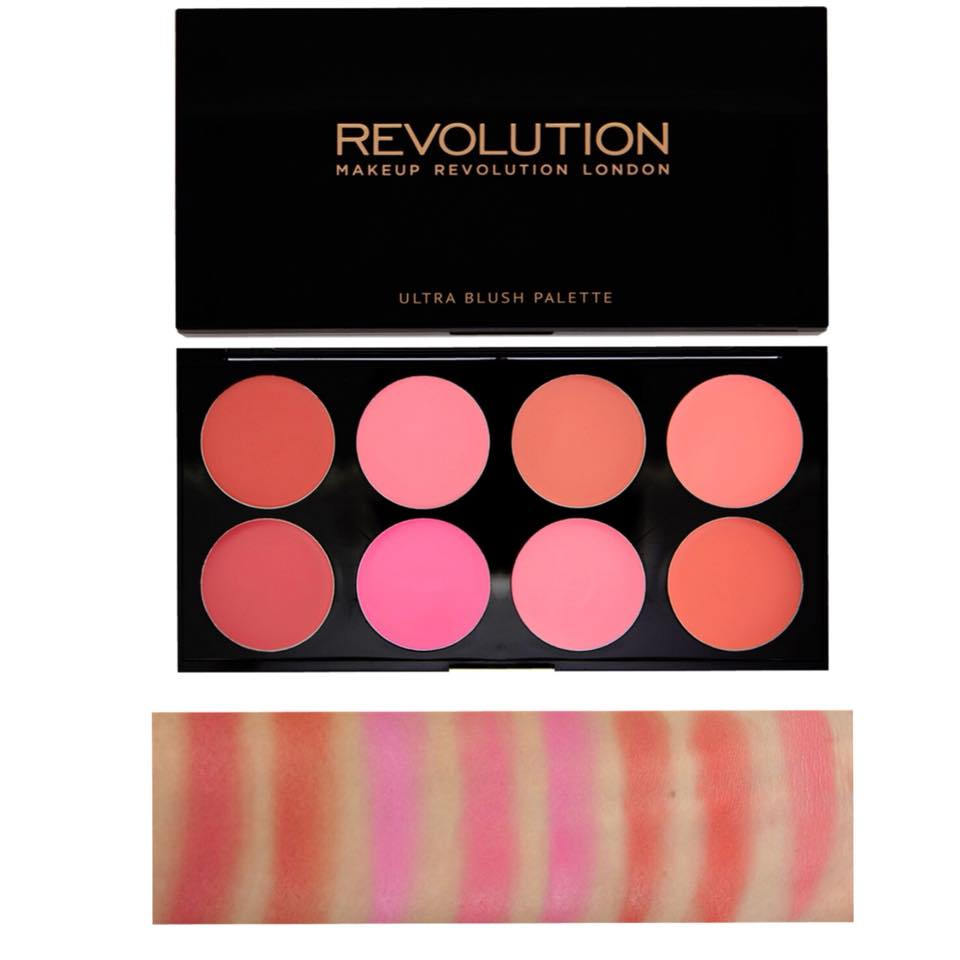 Mur- Revolution Blush Palette - All About Cream