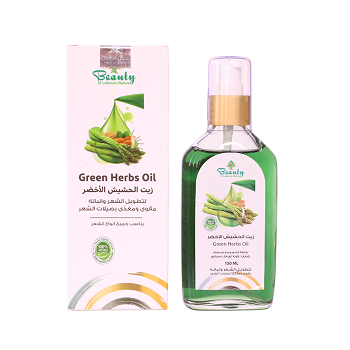 Beauty Nature Green Herbs Oil