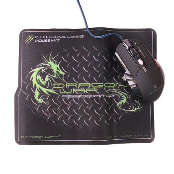 Dragon War Leviathan 3200 DPI Gaming Mouse with Mouse Pad