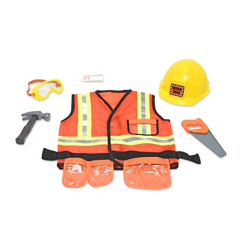 Construction Role Play Costume Set